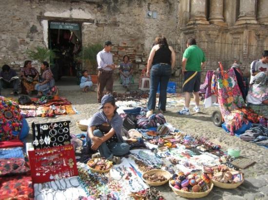 Chichicastenango, กัวเตมาลา: Vendors.