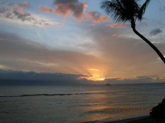 Sunset on Ka'anapali