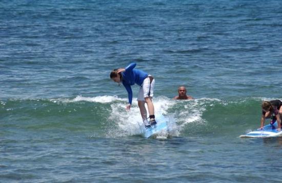 Caitlin-Surf Lessons-Ka'anapali