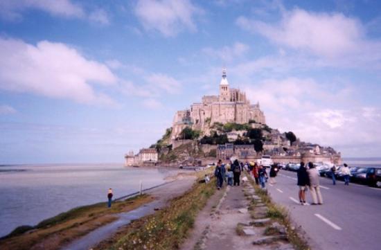 Mont-Saint-Michel, ฝรั่งเศส: Normandy, August 2002