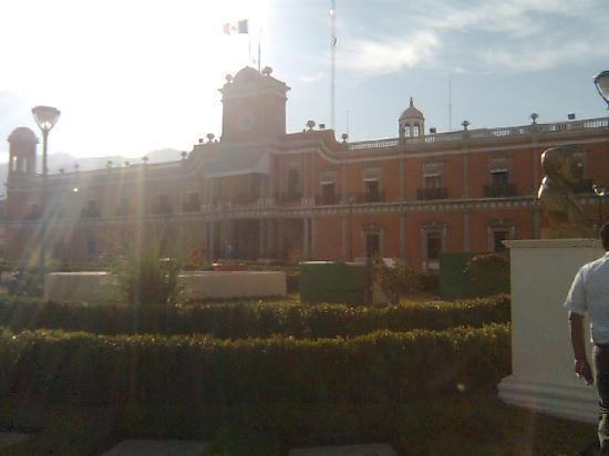 Tepic, Meksika: centro de la ciudad