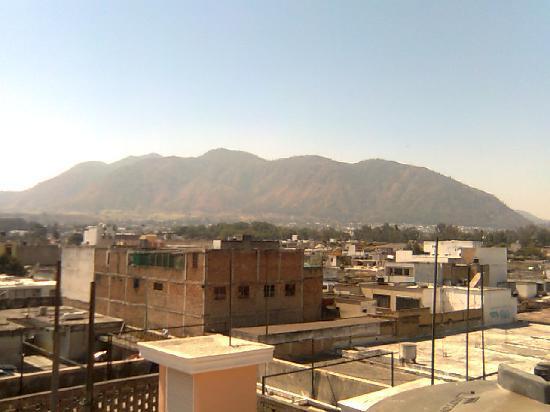 Tepic, Mexico: vista de la ciudad desde el Hotel Ibarra