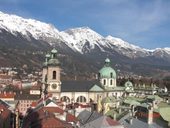 อินส์บรุค, ออสเตรีย: view from the tower of the rathaus