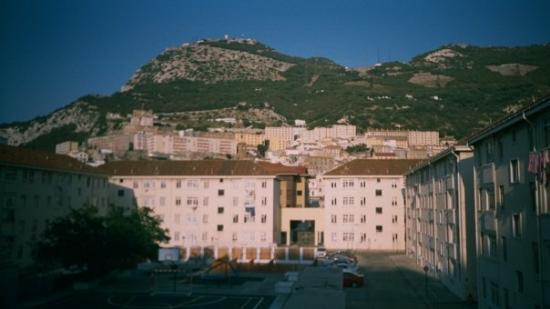 ยิบรอลตาร์: The view from flat