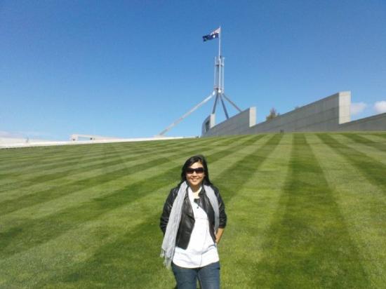 แคนเบอร์รา, ออสเตรเลีย: they have really beautiful grass.....
