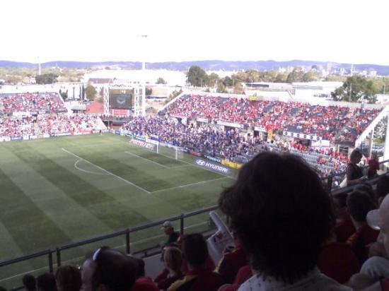 แอดิเลด, ออสเตรเลีย: View from grand stand seats