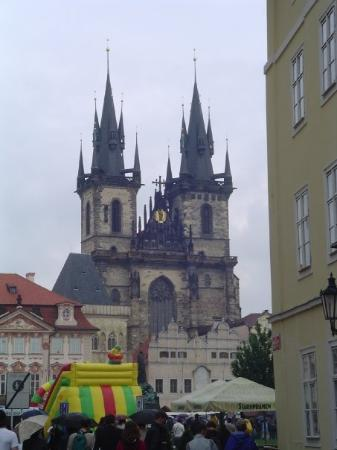 Old Town Square: Old Town Hall, Prague, Czech Republic
