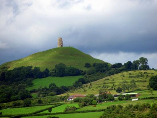 Not Street But Glastonbury Tor We Passed It On The Way