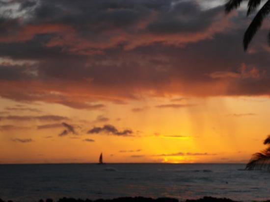 Sheraton Kauai Resort: View from the balcony/room