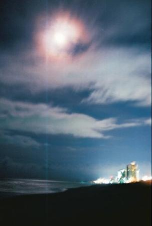 ไมร์เทิลบีช, เซาท์แคโรไลนา: About midnight on the beach