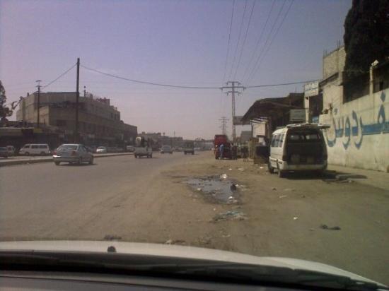 ดามัสกัส, ซีเรีย: Rue de Damas dans une zone industrielle