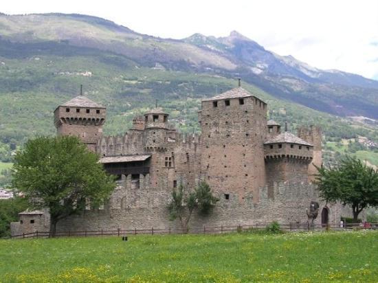 Fenis, อิตาลี: Il castello di Fenìs