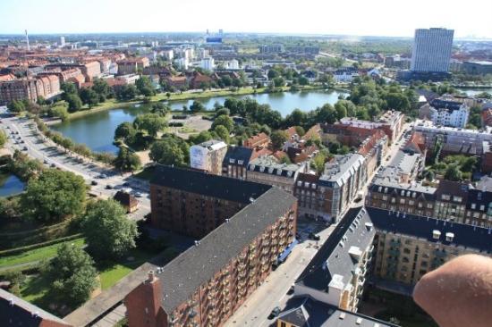 โคเปนเฮเกน, เดนมาร์ก: Aussicht von der Frelserkirche