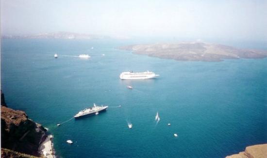 เอีย, กรีซ: Santorini - Greece 2001