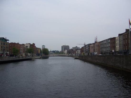 River Liffey ภาพถ่าย