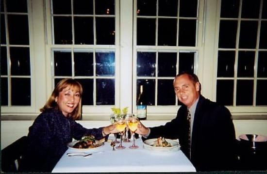 Inn at Mystic: Our anniversary in Mystic, CT - October 11, 1999.