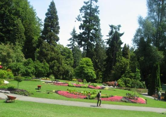 สวนแสตนเลย์: Pavilion Rose Garden at Stanley Park