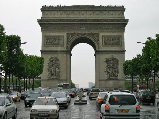 ประตูชัย: Triumfbuen, Paris 2003