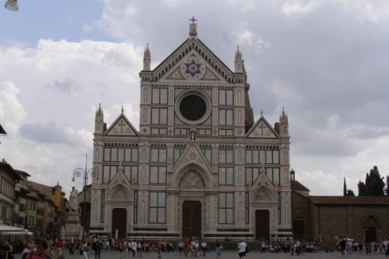 Basilica di Santa Croce: Basillica Santa Croce in Florence
