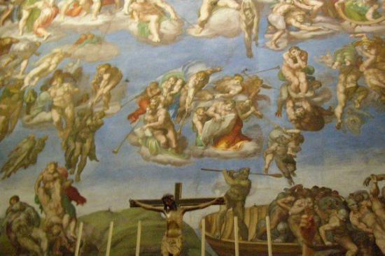 พิพิธภัณฑ์วาติกัน: Inside the Sistine chapel