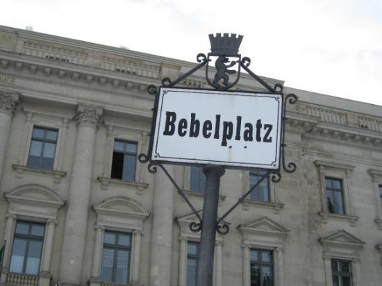 Bebelplatz ภาพถ่าย
