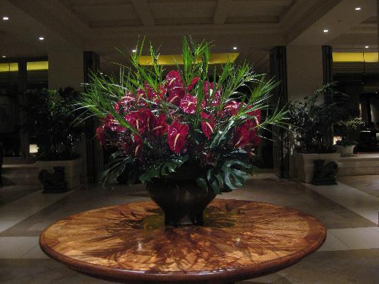 Lobby Floral Arrangement Picture Of Four Seasons Resort
