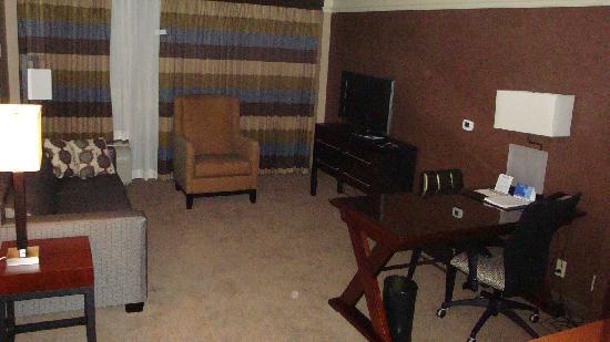 Crowne Plaza Hotel Kansas City Downtown: Living room