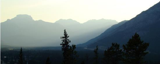 Hidden Ridge Resort : View from our room