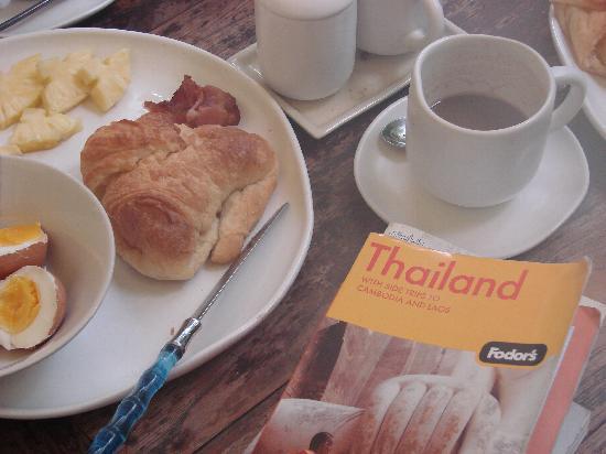 Ban Kong Rao: breakfast