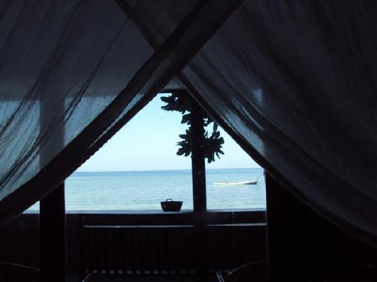 Bastianos Dive Resort: view from our bedroom