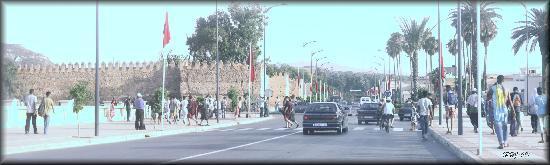 Oujda, Morocco: Murail de laville acienne d'Saadia.