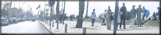 อุจดา, โมร็อกโก: Plage d'Saadia aménagée.