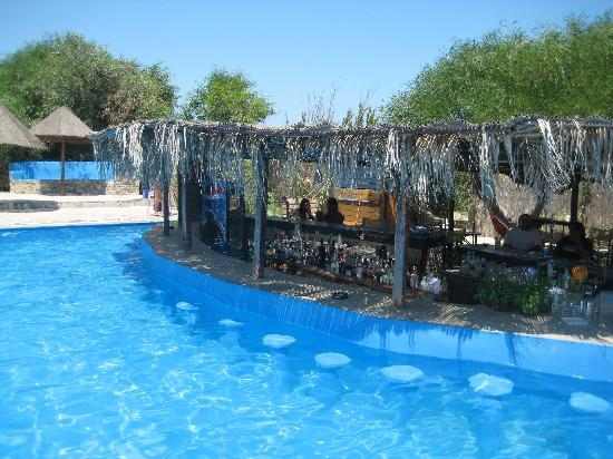 Surfing Beach Village: La pisci y el pool bar