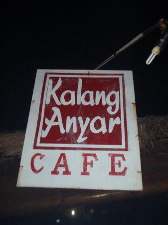 Kalang Anyar Restaurant: Restaurant Sign
