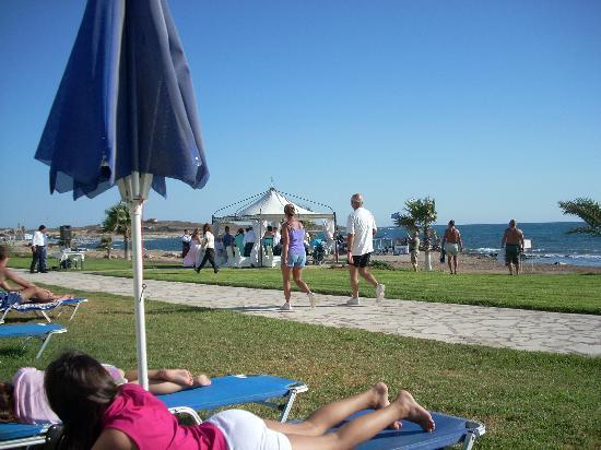 Kefalos Beach Tourist Village: Am Strand