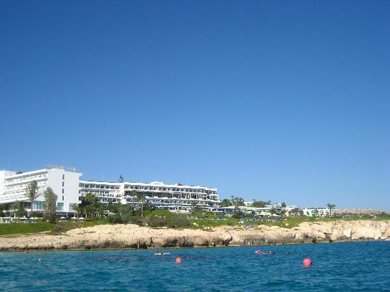Atlantica Club Sungarden Hotel : Atlantica Sungarden is on the right