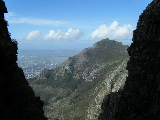 Table Mountain: View from the gorge