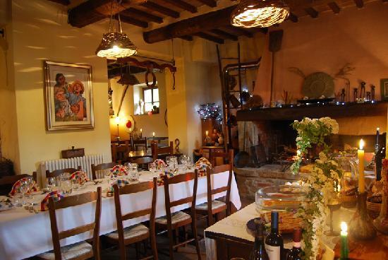 Agriturismo Il Castagnolo: Foto ristorante