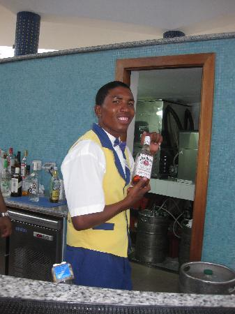 Iberostar Grand Hotel Bavaro: Leonardo (aka Pharrell the rapper)- the best bartender ever