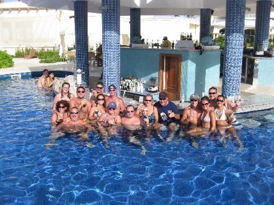 Iberostar Grand Hotel Bavaro: The pool bar crew