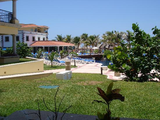Hotel Marina El Cid Spa & Beach Resort: Another View from our Patio