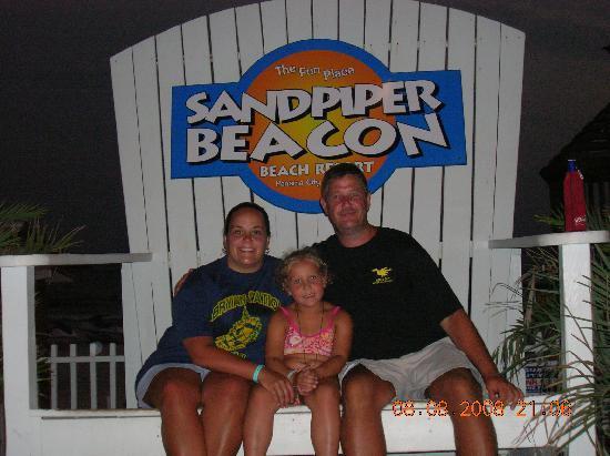 The Sandpiper Beacon Beach Resort: Last night