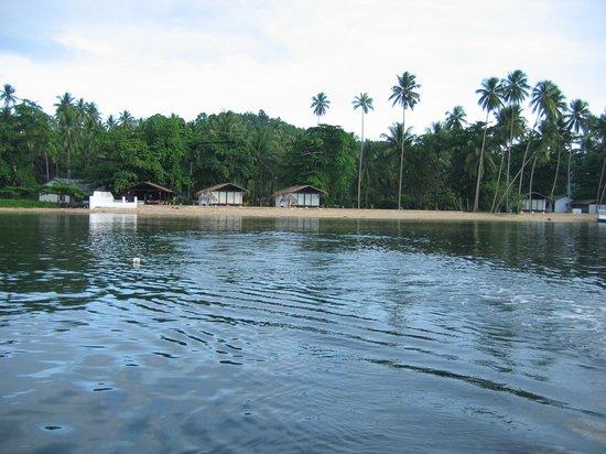 Pulau Lembeh, Indonesia: tutto qui il resort....