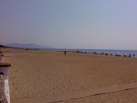 Villa Dei Principi Hotel: Beach view direction Sperlonga