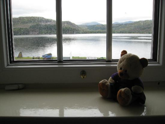 Lochcarron Hotel: Morag's view of the loch