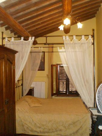 La Terrazza di Montepulciano: il nostro letto...
