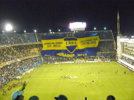 Argentinien: La bombonera
