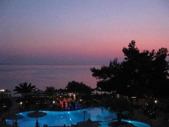 swimming pool sunset picture of anthemus sea beach hotel spa nikiti tripadvisor