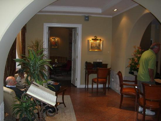Leopolis Hotel: lobby