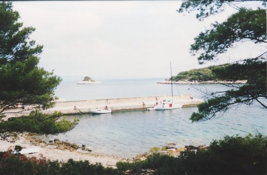 Dubrovnik-Neretva County, كرواتيا: vista dalla capanna